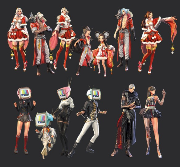 Blade & Soul Equipment Type